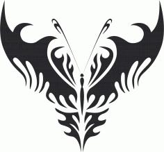 Butterfly Vector Art 024