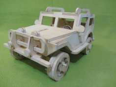 Jeep Frezer dxf File