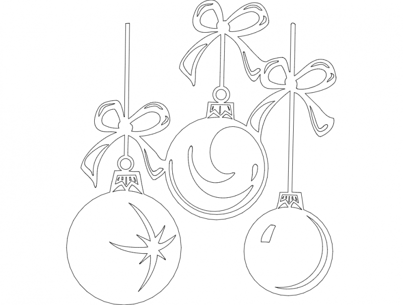 Things Festive 03 dxf File
