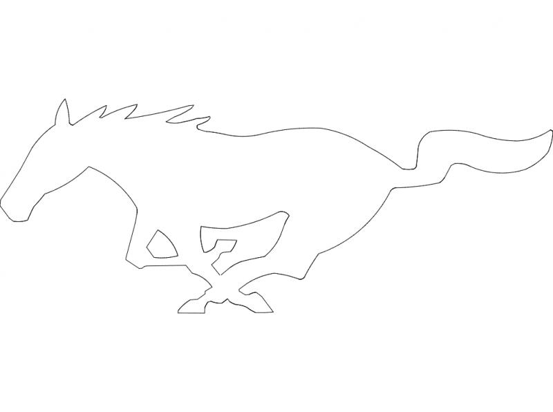 Fast Pony dxf File