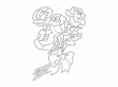 Flowers 1 dxf File