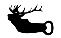 Elk Opener dxf File