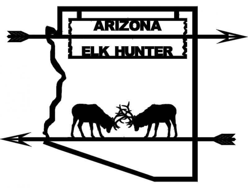 Arizona Elk Hunter dxf File
