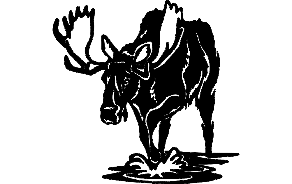 Moose dxf File