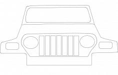 Jeep dxf File