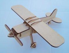 Cessna Laser Cut 3d Model