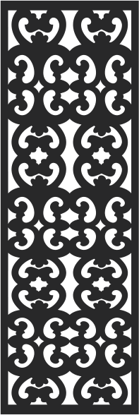 Window pattern design CDR File