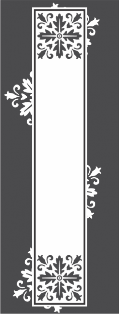 Glass doors pattern Free Vector