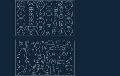 Kvadrotsikl dxf file