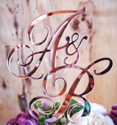 Laser Cut Decorative Letters Art Free Vector