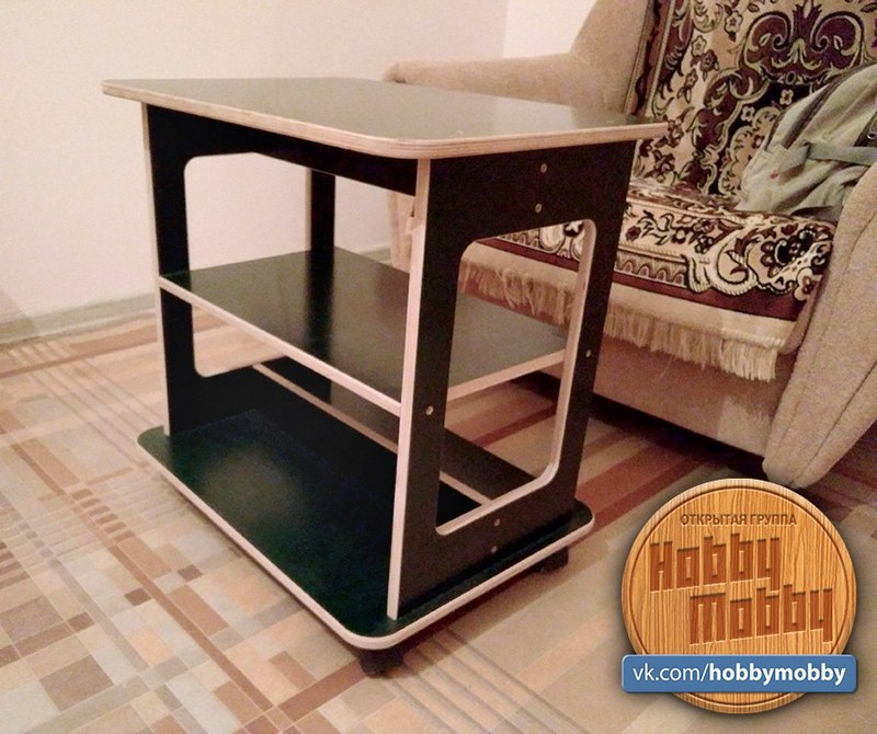 Laser Cutting Reading Table Free Vector