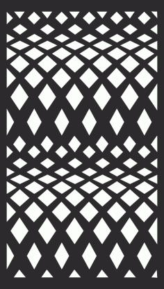 Screening Panel Pattern Free Vector