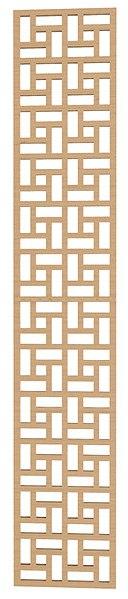 Lattice Geometric Pattern DXF File