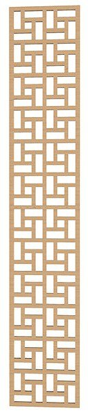 Lattice Geometric Pattern DXF File