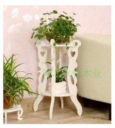 Laser Cut Flower Stand Plant Pot Vase Free Vector
