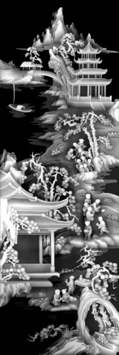 Grayscale Relief Art for CNC BMP File