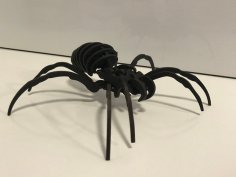 Laser Cut Spider DXF File