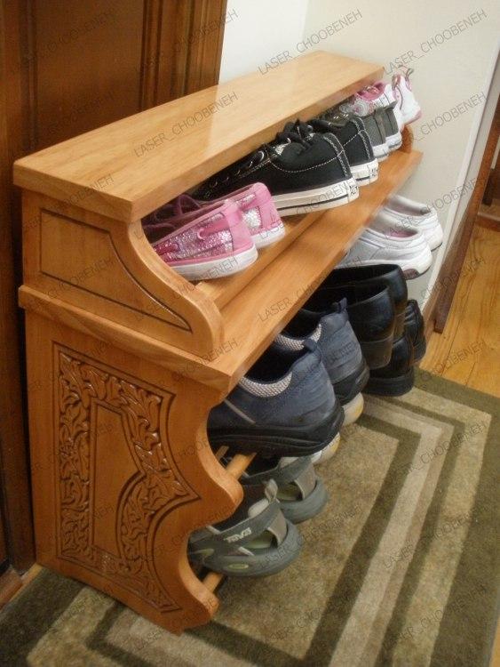Shoe Rack Shoe Shelf CNC Router Plans Free Vector