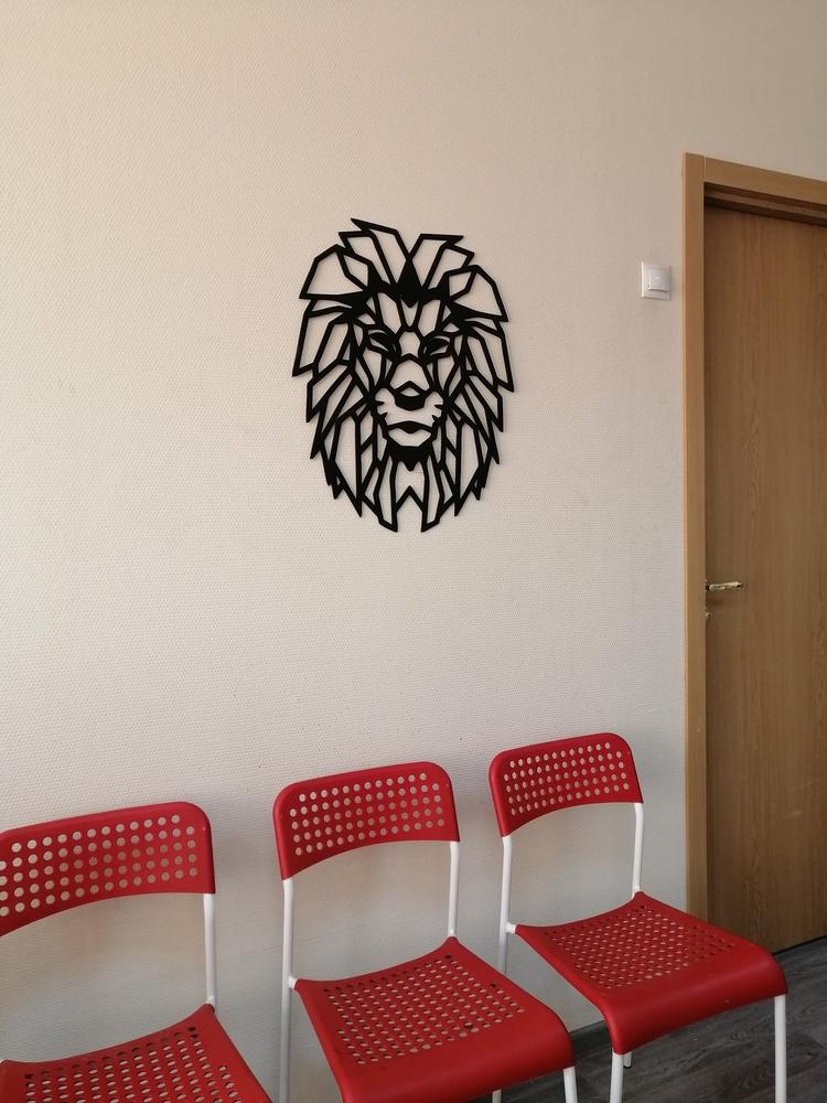 Laser Cut Lion Polygon Art Wall Decor Wall Art Decor 3D Sculpture DXF File