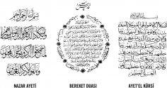 Islamic Muslim Art Ayatul Kursi Free Vector