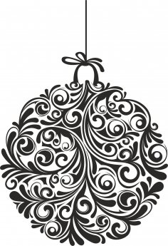 Christmas Ball Ornamental Free Vector