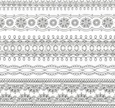 Ornate Pattern Vector Free Vector