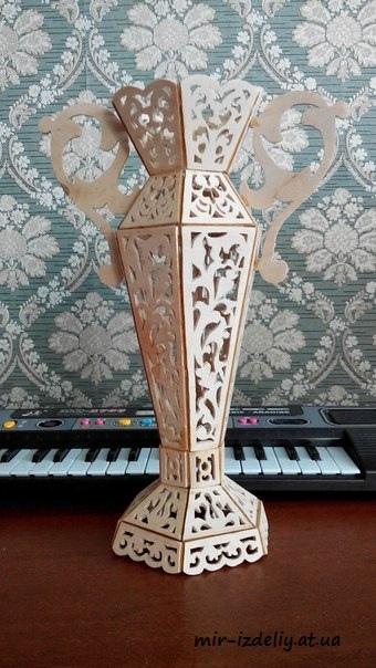 Vases Plywood 3D CNC Plans