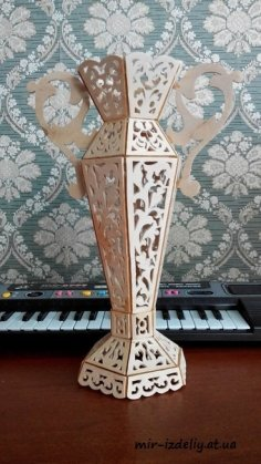 Vases Plywood 3D CNC Plans