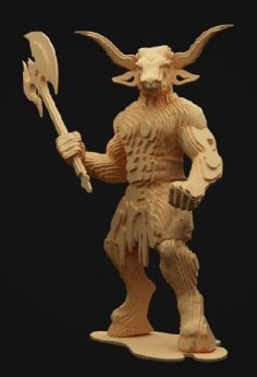 Minotaur L 6 Mm DXF File