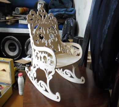 Laser Cutting Chair PDF File