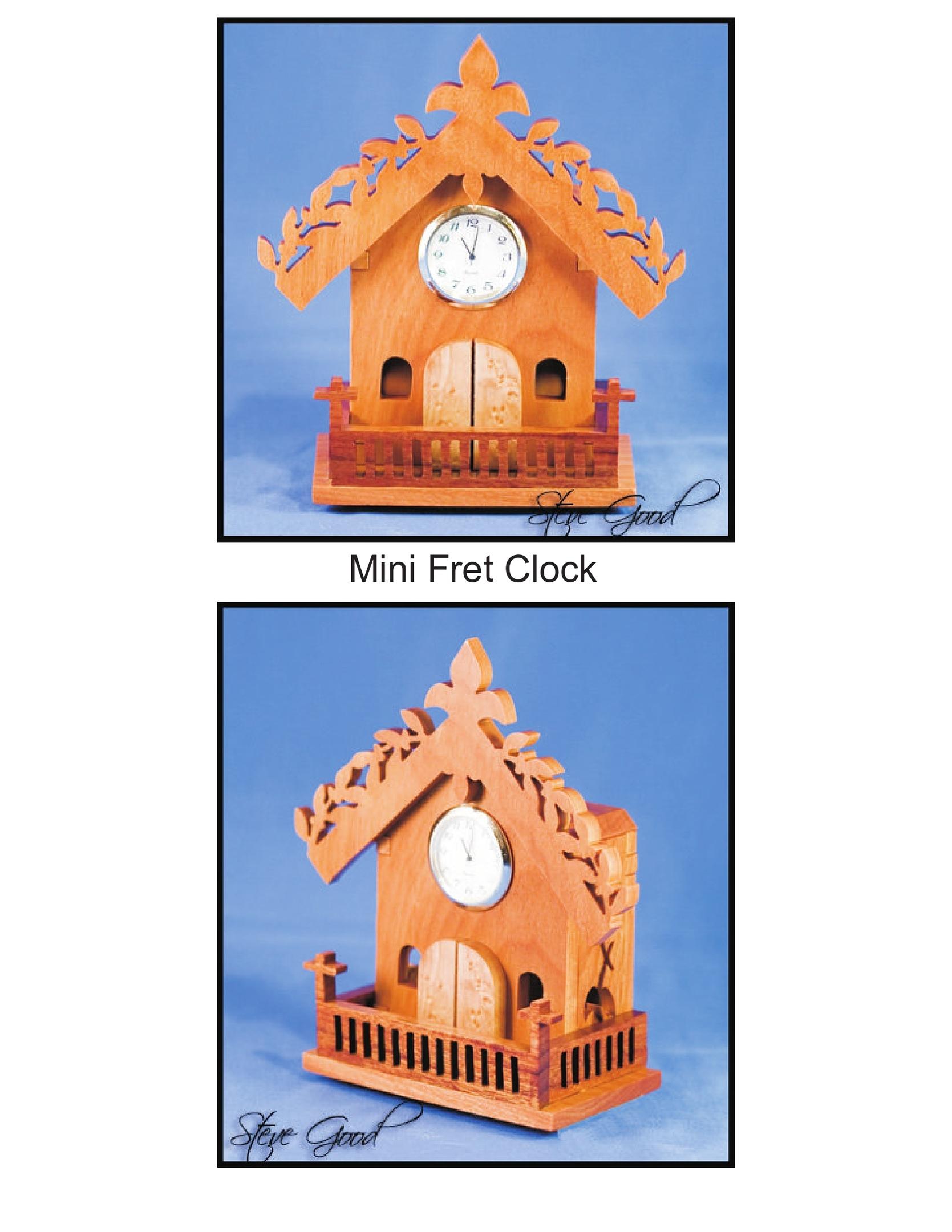 Mini Fret Clock PDF File