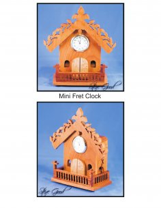 Mini Fret Clock PDF File