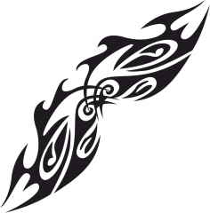 Vector Tribal Tattoo Design Free Vector