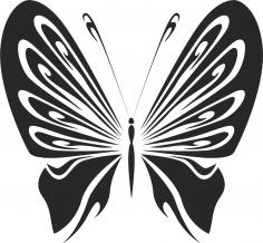 Vintage Butterfly Stencils