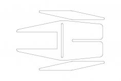 Slat Cleaner dxf File