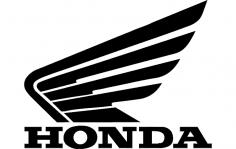 Honda Motorcycle Logo dxf File