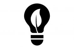 Light Bulb dxf File