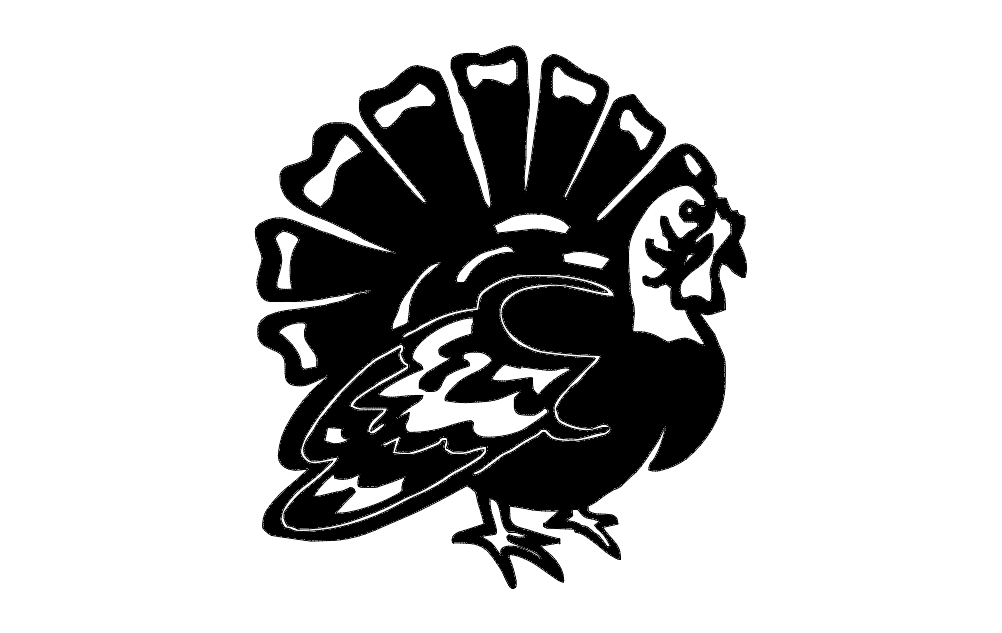 Turkey dxf File