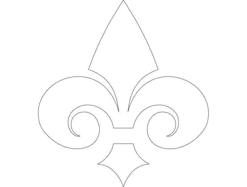 Ornament Design dxf File