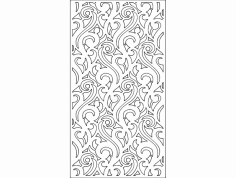 Wall Separator 8 dxf File