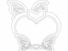 Kelebek 2 dxf File