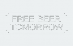Freebeer dxf File