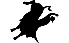 Bull Rider 1 dxf File