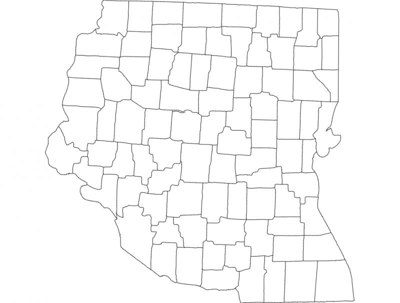 Ohio 4 dxf File
