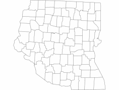 Ohio 4 dxf File