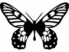 Borboleta dxf File