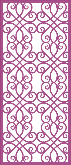 Laser Cut Vector Panel Seamless 292 Free Vector
