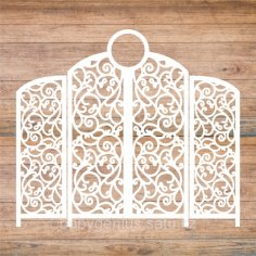 Decoration Screen Laser Cut Template