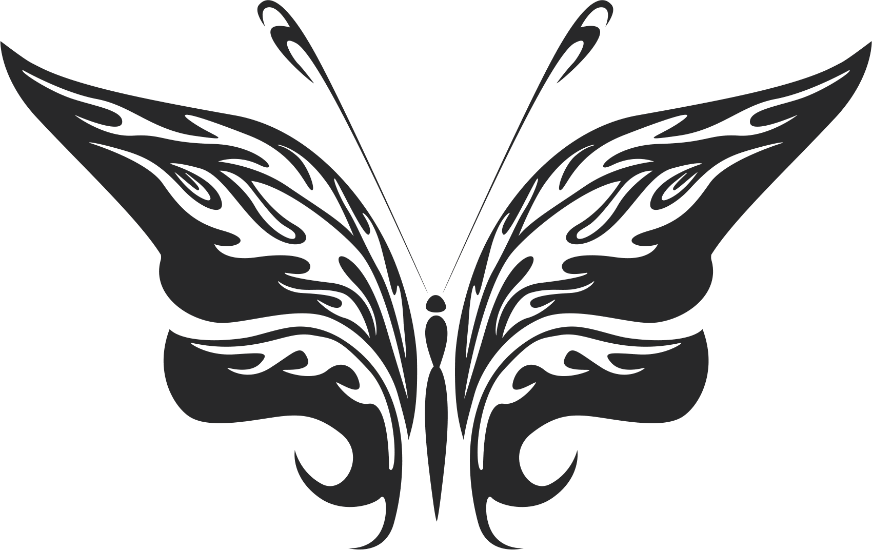 Butterfly Vector Art 025 Free Vector