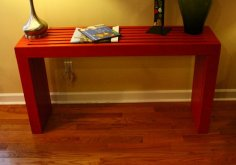 Console Table Plans PDF File